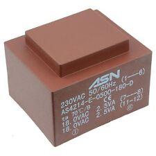 0-9V 0-9V 5VA 230V Trasformatore incapsulato PCB