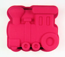 Train Engine Singles Pink Silicone Mold for Cupcake, muffin, treats, Crafts NEW