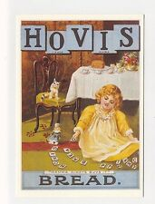 ad854 - advert for Hovis Bread - young girl plays  - 1903 art postcard