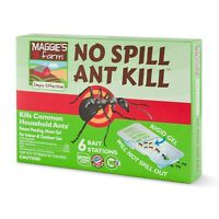 LOT of 2 Maggie's Farm No Spill Ant Kill - 12 poison bait stations total