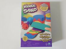 Kinetic Sand Rainbow Mix Set — Includes 6 Tools And 3 Colors