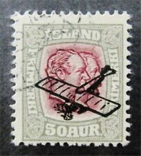 nystamps Iceland Stamp # C2 Used $120 F26y800