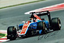 Pascal WEHRLEIN Signed Autograph 12x8 Photo 1 Autograph AFTAL COA Manor F1