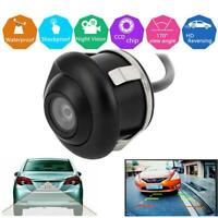 360 HD Waterproof Car Rear View Reverse Backup Parking Camera Night Vision
