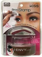 KISS I-Envy Brow Stamp for Perfect Eyebrow, Dark Brown 1 ea (Pack of 6)