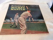 My Favorite Hits Mickey Mantle RCA Victor LP LPM-1704