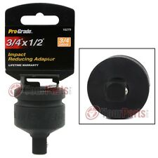 "3/4"" To 1/2"" Inch Drive Black Impact Socket Adapter Reducer Tool Pro Grade 16279"