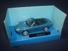 Porsche 911 blue Cararama 1:43