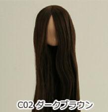 Obitsu Doll 11cm hair implantation head for natural body (11HD-F01NC02) D BRN