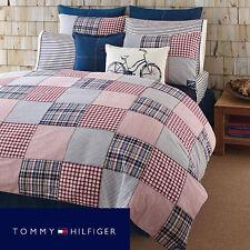 Tommy Hilfiger Colton Point Comforter Set 3pc Queen Cotton Plaid New