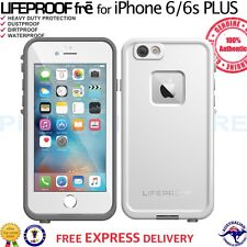 "GENUINE LifeProof Fre Case WaterProof Cover for iPhone 6 Plus 6s Plus 5.5"" White"
