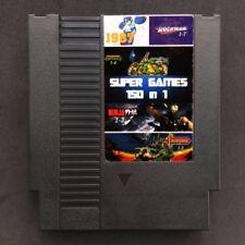 150 in 1 NES Classic Nintendo Game Cartridge Mega Man Contra Mario Castlevania ✅