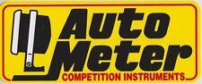 Autometer Racing Decal   D930