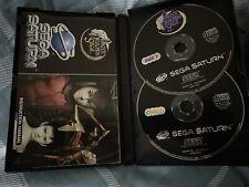 SEGA SATURN - RARE ORIGINAL BOX -PANZER DRAGOON SAGA 4 Discs