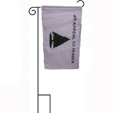 """12x18 12""""x18"""" An Appeal To Heaven Accurate Sleeved w/ Garden Stand Flag"""