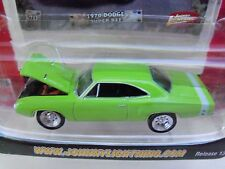 JOHNNY LIGHTNING - MUSCLE CARS  - (1970) '70 DODGE SUPER BEE (GREEN) - DIECAST