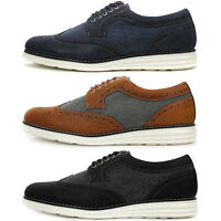 New Wing Tip Casual Stylish Sneakers Mens Comfort Dress Shoes Nova