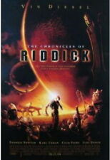 The Chronicles Of Riddick Rare Promo Poster Vin Diesel Thandie Newton Karl Urban