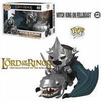 FUNKO POP RIDES - LORD OF THE RINGS - WITCH KING ON FELLBEAST FIGUR NEU/OVP