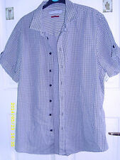 River Island Polyester Fitted Casual Shirts & Tops for Men