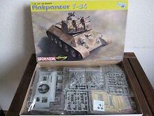 Flakpanzer t-34 de Dragon en escala 1:35 * nuevo *