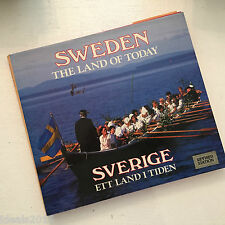 SWEDEN The Land of Today by William Mead – Revised Edition HC, DJ Book ~S87