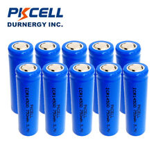 10pcs 3.7V ICR 14500 Battery AA Size Li-ion Lithium Rechargeable Batteries Cell