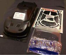 1 10 RC Coche Clara Carrocería 190mm Honda HSX Raybrig Carbono Impreso Fit Tamiya