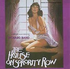 RICHARD BAND - THE HOUSE ON SORORITY ROW/THE ALCHEMIST USED - VERY GOOD CD