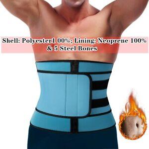 Waist Trainer Body Shaper FAT BURN Neoprene Corset Men&Women Sweat Trimmer Belts