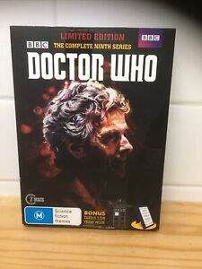 DOCTOR WHO - Season 9 7 x *DVD Only As Pictured* Ninth Series Nine