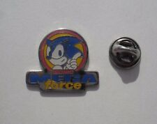 Sega SONIC the Hedgehog MEGA FORCE Rare MINT Vintage Enamel METAL PIN BADGE Pins