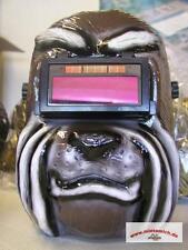 Automatik sudor casco Mad Dog Braun schweisshelm schweissmaske schweissermaske