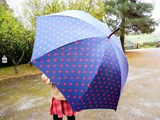 Vintage retro style CATH KIDSTON polkadot umbrella by FULTON