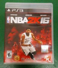 NBA 2K16 (Sony PlayStation 3, 2015) Complete With Manuel Works Tested