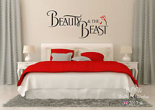 Beauty And The Beast Children Teenager Adult Wall Sticker Wall Art Funny Decal
