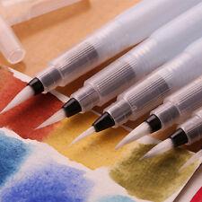 3Pcs Water Brush Watercolor Art Paint Brush Nylon Hair Painting Calligraphy Pen