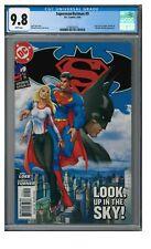 Superman/Batman #9 (2004) New Supergirl Michael Turner CGC 9.8 White Pages GG623