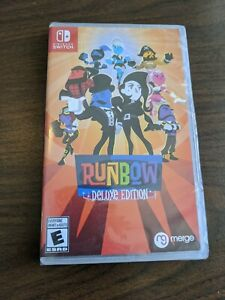 Runbow Deluxe Edition (Nintendo Switch) Brand New Factory Sealed