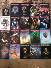 Iron Maiden Fan Club Magazine Lot Of 21