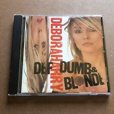 DEBORAH HARRY - Def, Dumb, And Blonde CD (1989) I Want That Man (from Blondie)