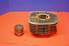 1978 Yamaha DT250 ENGINE MOTOR CYLINDER BORE JUG & PISTON 70.104MM NICE STD BORE