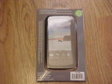 NEW Blackberry Torch 9860 Genuine Leather Back Skin Case Roots Elite