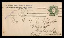 DR WHO 1910 AUSTRALIA SYDNEY STATIONERY C190276