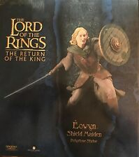 Lord of the Rings Lotr Return of The King Eowyn Statue Sideshow Weta New!