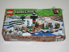 Minecraft Lego Set #21142 THE POLAR IGLOO New Sealed NIB