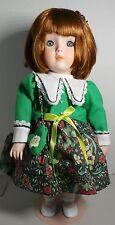 """Betty Jane Carter Musical Porcelain Doll, """"Molly"""" 912896 622/2000 Goebel"""