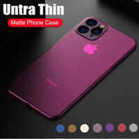 For iPhone 11 Pro Max XS XR X 8 6s 7 Plus Shockproof Slim Matte Hard Case Cover