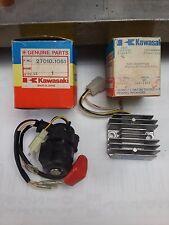 KAWASAKI KZ 550 H1-H2  STARTER AVVIAMENTO  MOTO D' EPOCA ANNI 1982-83