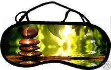 Masque de sommeil cache yeux anti lumière fatigue zen personnalisable REF 55